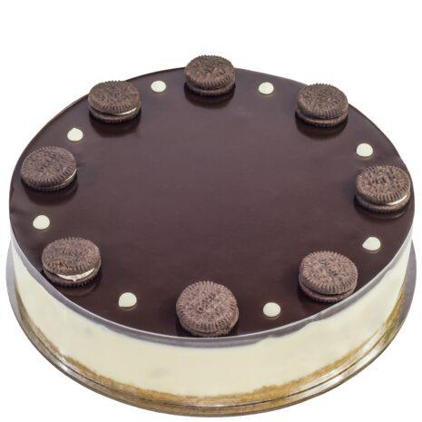 cheesecake - chocolate - oreos